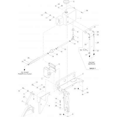 Oil Tank And Support Form III, III LT