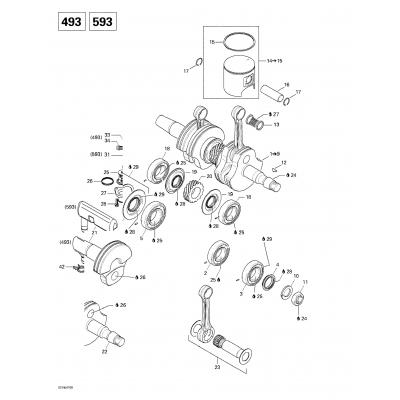 Crankshaft And Pistons (693)