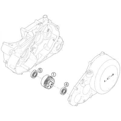 Balancer Shaft Lc4 '95