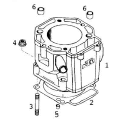 Cylinder 400-640 Lc4-E 2001