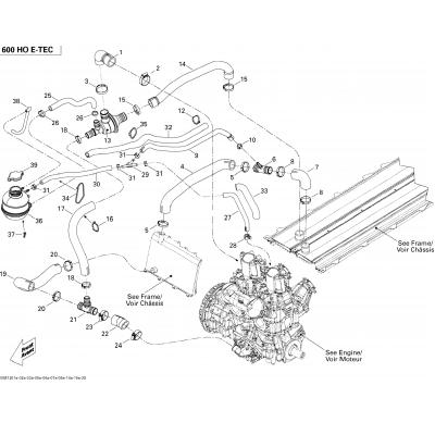Cooling System 600HOETEC