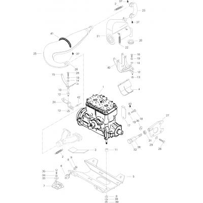 Оборудование двигателя