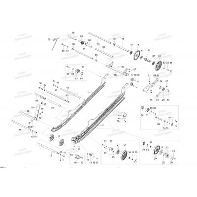 Задняя подвеска - A