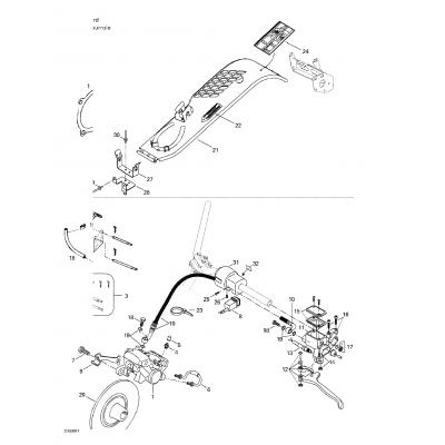 Hydraulic Brake And Belt Guard