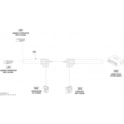 Электрические переключатели рулевого управления