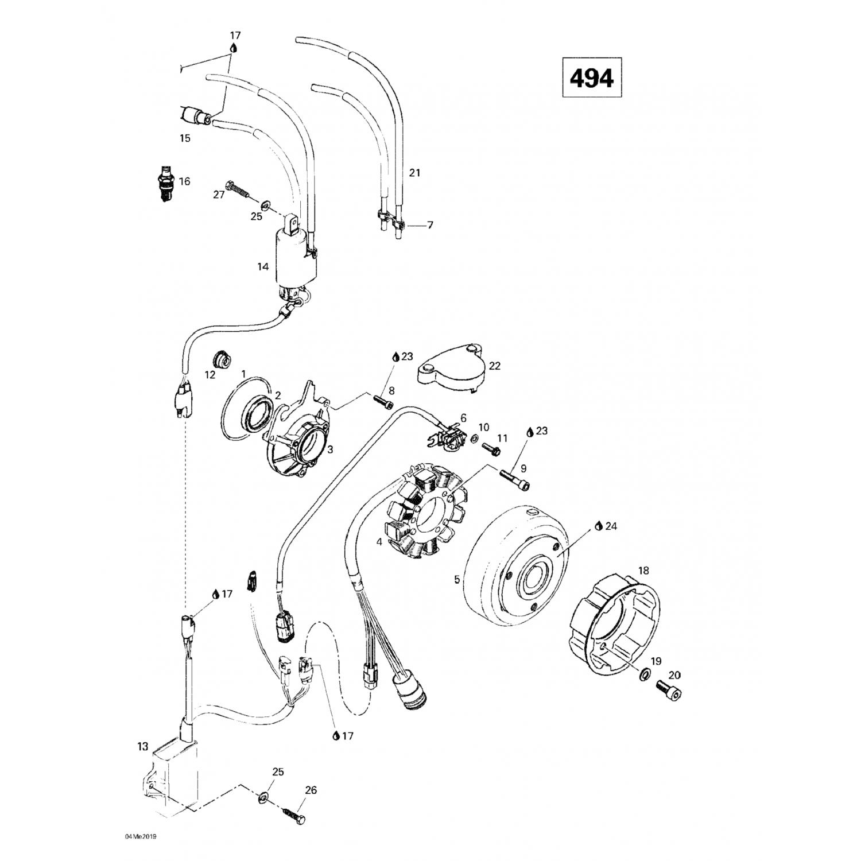 413706100 Ski-Doo - Lithium Grease, 400gr Skandic WT LC