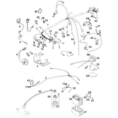 Wiring Harness 400; 640-Usa Lc4 2001