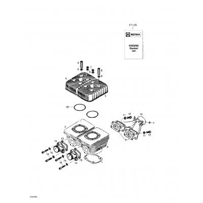 Cylinder, Exhaust Manifold