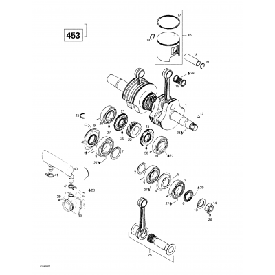 Crankshaft And Pistons (593)