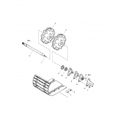 Drive Axle And Track