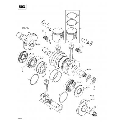Crankshaft And Pistons (377)