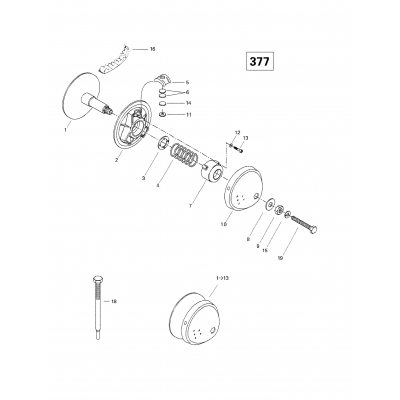 Drive Pulley (377)