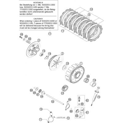 Clutch 125/200 2000