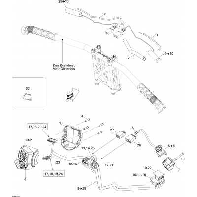 Electrical Accessories, Steering