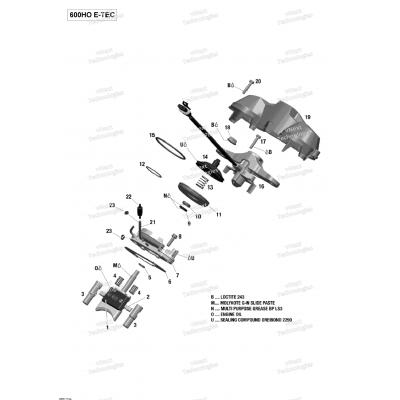 Rave Клапан - 600HO E-TEC