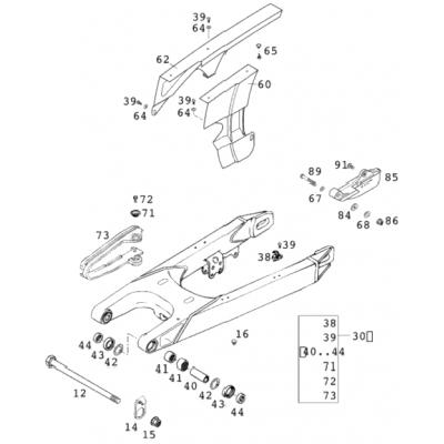 Swing Arm 400/640 Lc4 2001
