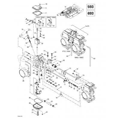 Carburetors (593, 693)