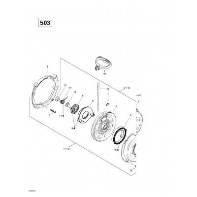 Rewind Starter (377)