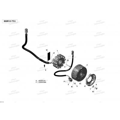 Генератор - 800R E-TEC