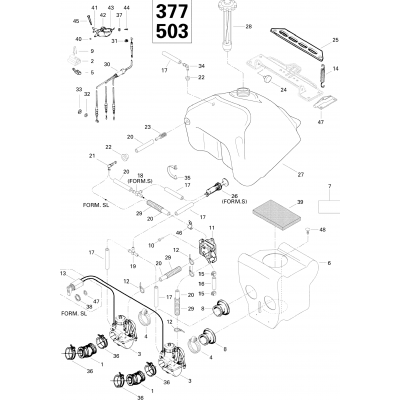 Fuel System Formula S