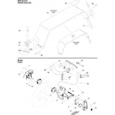 Brake Formula S, SL