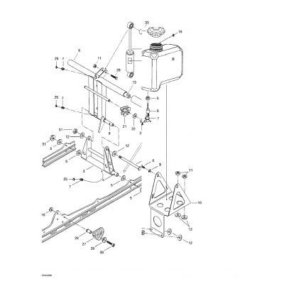 Oil Tank And Support