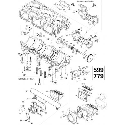 Crankcase (599)