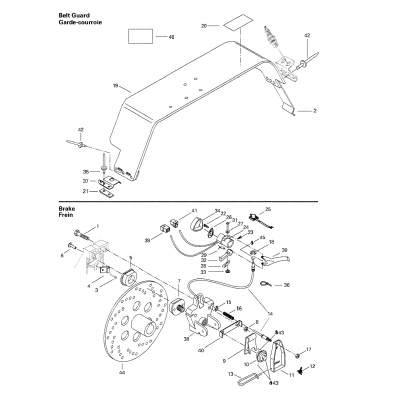 Mechanic Brake And Belt Guard