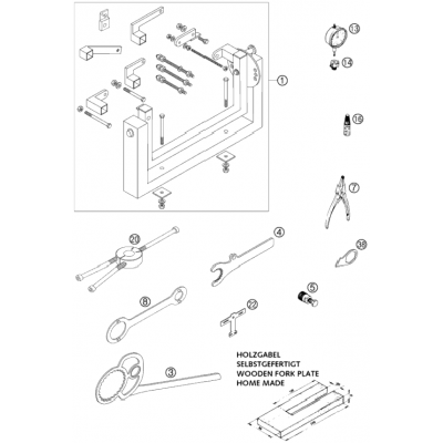 Special Tools 125/200 2001