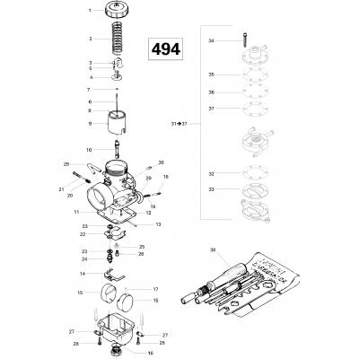 Carburetor 494