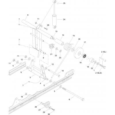 Rear Arm Formula S, SL
