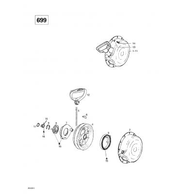 Rewind Starter (699)