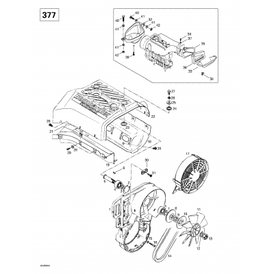 Cooling System And Fan (503)