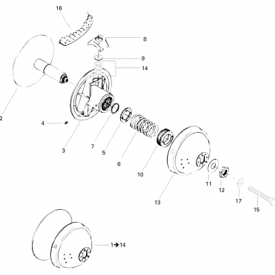 Drive Pulley 377