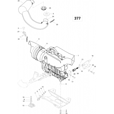 Engine And Engine Support 377