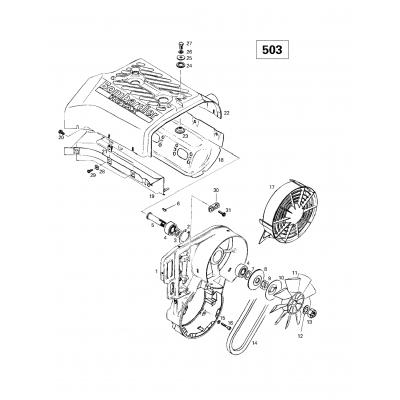Cooling System  Fan (503)