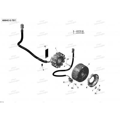 Генератор - 600HO E-TEC