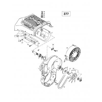 Cooling System  Fan (377)