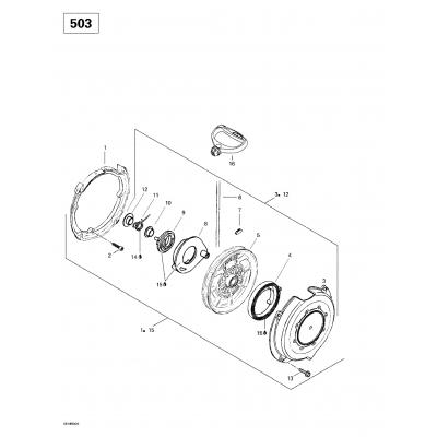 Rewind Starter (503)