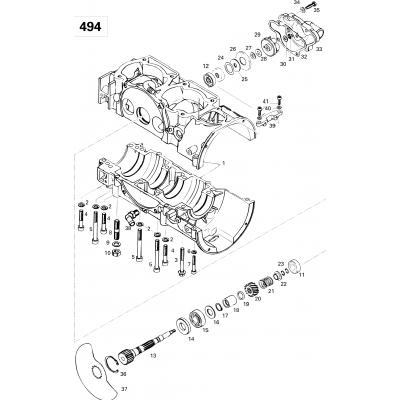 Crankcase (494)