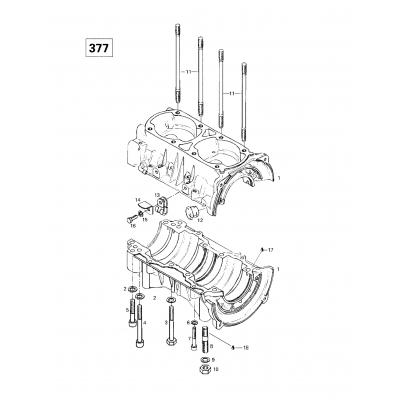 Crankcase (377)