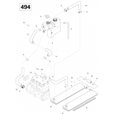 Cooling System (494)
