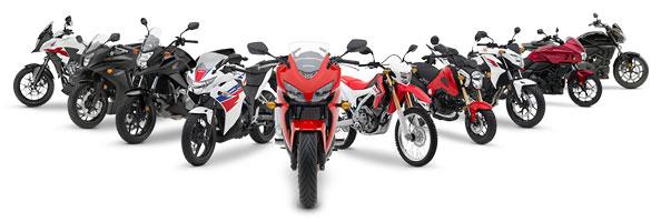 запчасти для мотоциклов HONDA